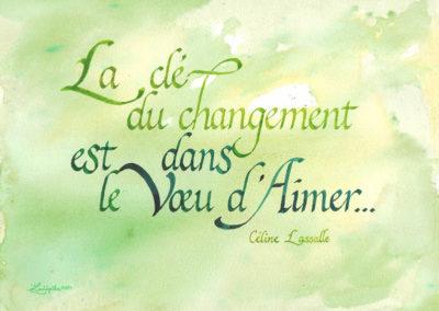 Citation changement de Céline Lassalle