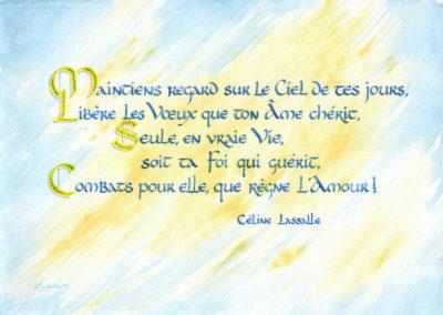 Foi Poésie de Céline Lassalle