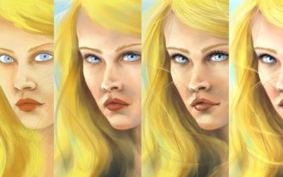 Tutoriel avec Corel Painter pour Kaya portrait