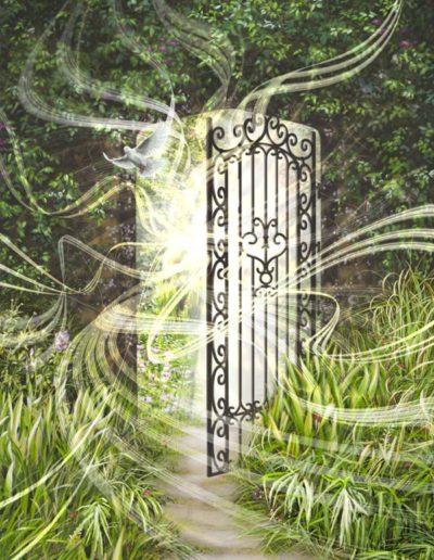 peinture portail l'appel
