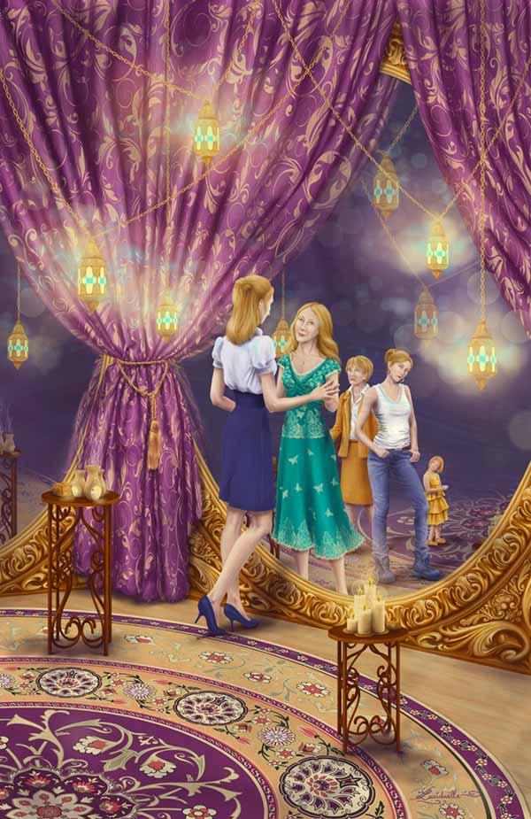 peinture chambre aux secrets