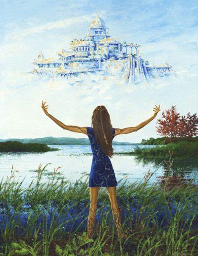 peinture la femme cité