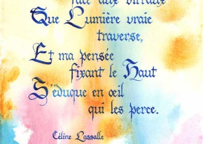 Lumière Poésie de Céline Lassalle